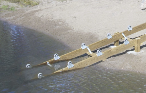 ShoreDocker Base Model Extension Boat Ramp Kit